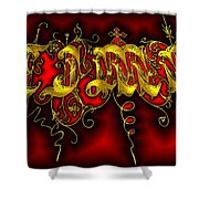 Time Shower Curtain