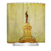 Time Honored Shower Curtain by Toni Hopper