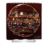 Time In A Bottle - Croce's Place Shower Curtain