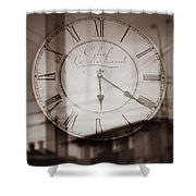 Time Is Infinite Shower Curtain