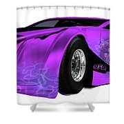 Time Machine Shower Curtain
