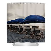 Time-out Chairs Shower Curtain