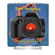 Time Passages Logo Shower Curtain