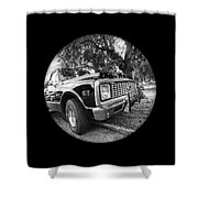 Time Portal - '71 Chevy Shower Curtain