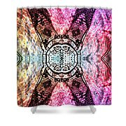 Time Ripples  Shower Curtain