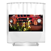 Time Sings A Melody Shower Curtain