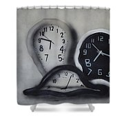 Time Slipping Away Shower Curtain