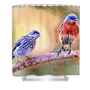Time Spent Together Shower Curtain
