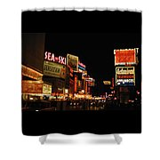 Time Square 1956 Shower Curtain