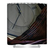 Time Standing Still Shower Curtain