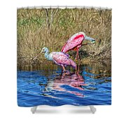 Time To Get Ready For Dinner Shower Curtain