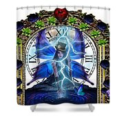 Time Travel Fairy Shower Curtain