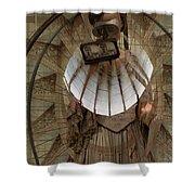 Time Traveler Shower Curtain