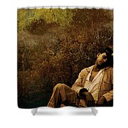 Time Warp Shower Curtain