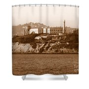 Timeless Alcatraz Shower Curtain