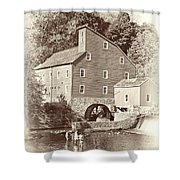 Timeless-clinton Mill N.j.  Shower Curtain