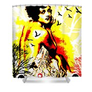 Timeless Flight Shower Curtain