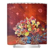 Timeless Shower Curtain by Jean Ann Curry Hess