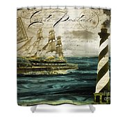 Timeless Voyage Shower Curtain