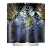 Timeline Of History Shower Curtain