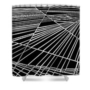 Timelocked Shower Curtain