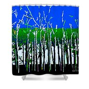 Times And Seasons Shower Curtain