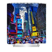 Times Square 7453 Shower Curtain
