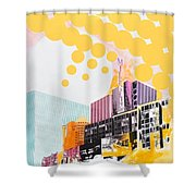 Times Square Milenium Hotel Shower Curtain