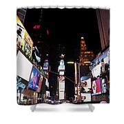 Times Square New York City New Years Eve Shower Curtain