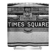 Times Square Station Tablet Shower Curtain