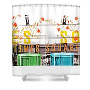 Times Square Tower Shower Curtain