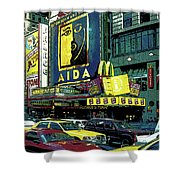 Times Square Visitors Center Shower Curtain
