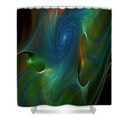 Timewarp 2 Shower Curtain