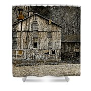 Tin Cup Chalice Rustic Barn Shower Curtain
