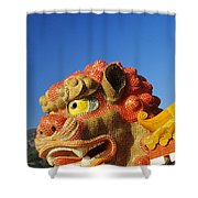 Tin Hua Temple Shower Curtain