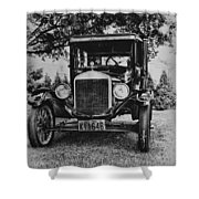 Tin Lizzy - Ford Model T Shower Curtain by Bill Cannon
