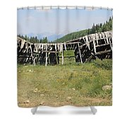 Tincup History 4 Shower Curtain