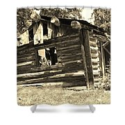 Tincup History Shower Curtain