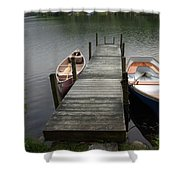 Tinmouth Pond Vermont Shower Curtain