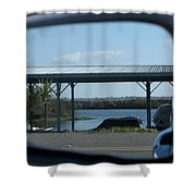 Tinsely Island Shower Curtain