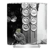 Tinsmith Shower Curtain