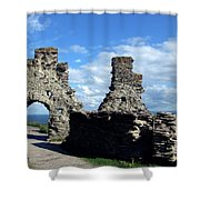 Tintagel Castle 2 Shower Curtain