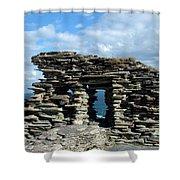 Tintagel Castle 3 Shower Curtain