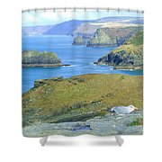Tintagel Shower Curtain