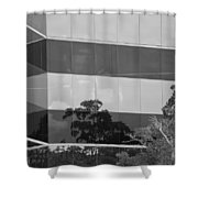 Tinted Glass Shower Curtain