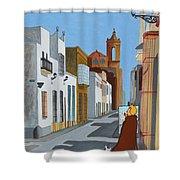 Tintin En Puerto Real Shower Curtain