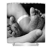 Tiny Feet Shower Curtain