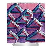 Tiny Houses Shower Curtain
