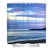 Guiding Light In The Distance Shower Curtain