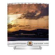 Tip Of The Spear Shower Curtain